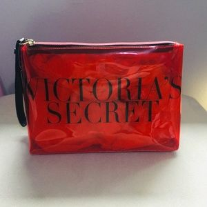 3 for $15! Victoria's Secret Red Cosmetic Bag